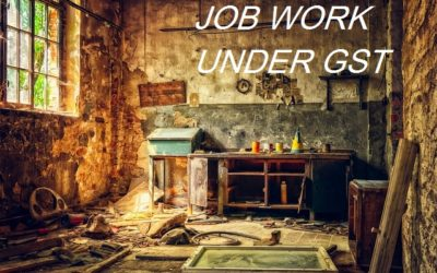 job work under gst in hindi